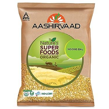Aashirvaad Organic Moong Dal, 1 Kg