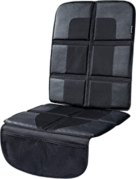 Magnelex Car Seat Protector, Largest Cover, Extra Thick Padding and Waterproof 600D Polyester, 2 Large Pockets, Front or Rear Use, Latch Compliant Car Seat Protector: image