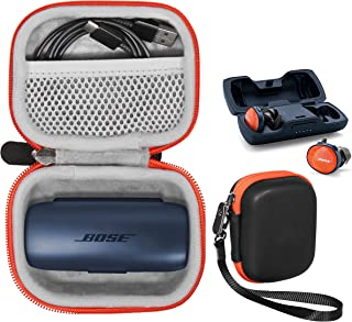 Featured Protective Case for Bose SoundSport Free Truly Wireless Sport Headphones Charger Box, Mesh Pocket for Cable and O...