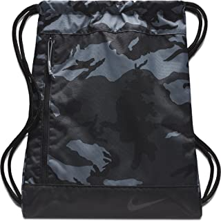 NIKE Sport All Over Print Golf Gymsack, Anthracite/Black/Anthracite