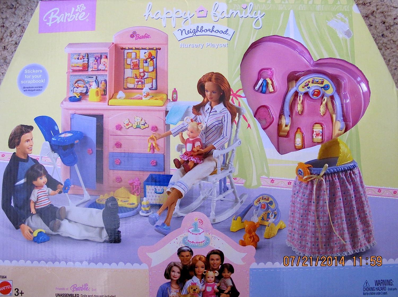 Popular overseas Barbie Happy Cheap Family Neighborhood Nursery BASS PLAYSET Dresser w