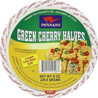 Pennant Green Cherry Halves, 8 Ounce