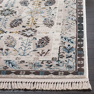 Safavieh Serenity Collection SER208D Cream and Turquoise Area Rug (8' x 10')