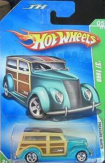 Hot Wheels 2009 Treasure Hunt '37 Ford 1:64 Scale