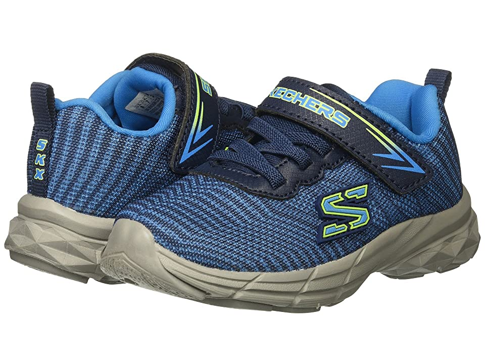 SKECHERS KIDS Eclipsor (Toddler/Little Kid) (Blue/Navy) Boy