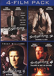 The Substitute 4-Film Pack (The Substitute / The Substitute 2: School`s Out / The Substitute 3: Winner Takes All / The Substitute 4: Failure Is Not An Option)