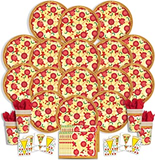 Best pizza party party supplies Reviews