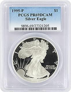 1995-P $1 American Silver Eagle PR69DCAM PCGS