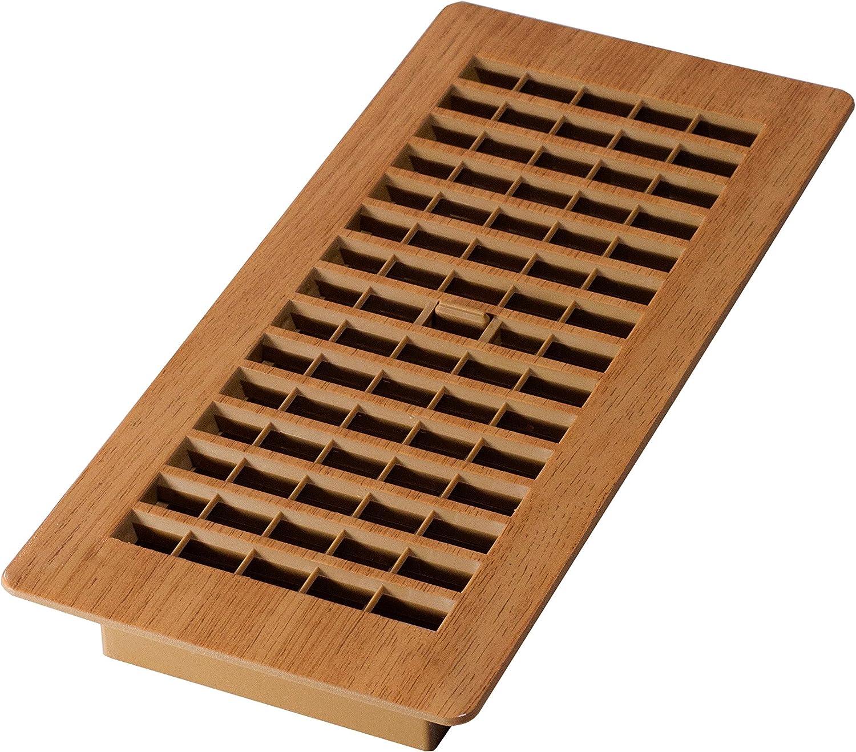 Boston Mall Decor Grates PL410-OC 4-Inch by 10-Inch Super special price Floor Plastic Register