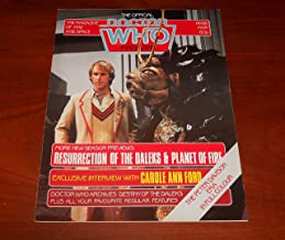 The Official Doctor Who Magazine No 86