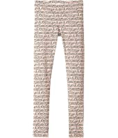 Fendi Kids - All Over Heart Print Leggings (Big Kids)