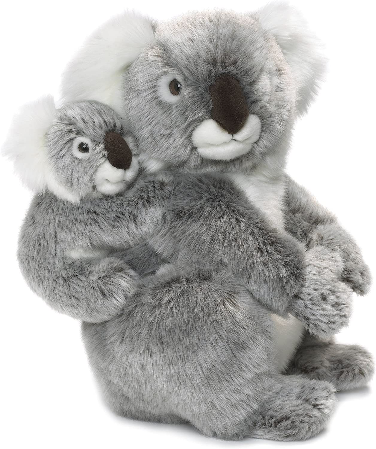 WWF Koala Bear plush stuffed animal soft toy MOTHER AND BABY