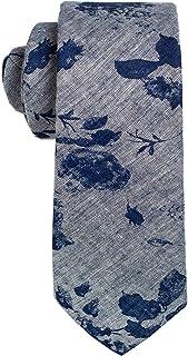 Lovacely Men's Cotton Floral Printed Tie Skinny Necktie Various Designs, Great for Wedding, Groom, Groomsmen, Dances, Gifts.