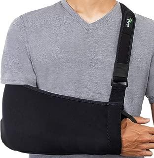 Think Ergo Arm Sling Sport - Lightweight, Breathable, Ergonomically Designed Medical Sling for Broken & Fractured Bones - Adjustable Arm, Shoulder & Rotator Cuff Support (Adult)