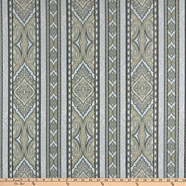 Jinny Beyer Aruba Digital Border Gray Taupe Quilt Fabric By The Yard