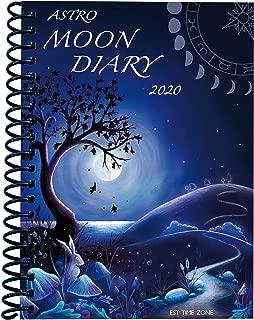 Moon Diary 2020 EST Datebook Calendar Personal Organiser