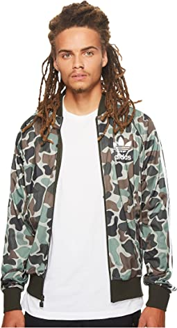 Camo Superstar Track Top