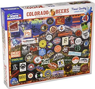 White Mountain Puzzles 1394 Colorado Breweries Jigsaw Puzzle, 1000 Piece-Designer: Lois B. Sutton