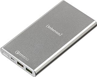 Intenso Power Bank Q10000, bärbar laddare, snabbladdning (10 000 mAh, kompatibel med smarttelefon/surfplatta PC och mer) s...