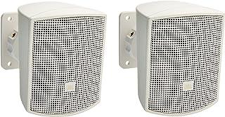 JBL Professional Control 52-WH Surface-Mount Satellite Speaker for Subwoofer-Satellite Loudspeaker System, White, Sold as Pair