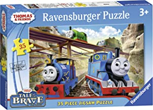 Ravensburger Thomas & Friends Tale of The Brave 35 Piece Jigsaw Puzzle for Kids – Every Piece is Unique, Pieces Fit Together Perfectly