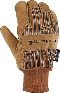 Carhartt Men's Insulated Suede Work Glove with Knit Cuff