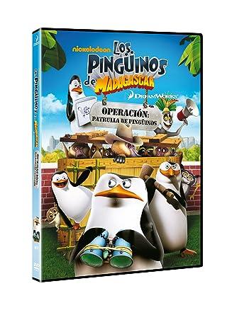 Amazon Com Los Pingüinos De Madagascar Operación Patrulla De Pingüinos Import Espagnol Cine Y Tv
