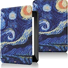 IVSO Cover Case for All- Kindle Paperwhite 2018, Slim PU Cover Case for Amazon Kindle Paperwhite (10th Generation, 2018 Re...