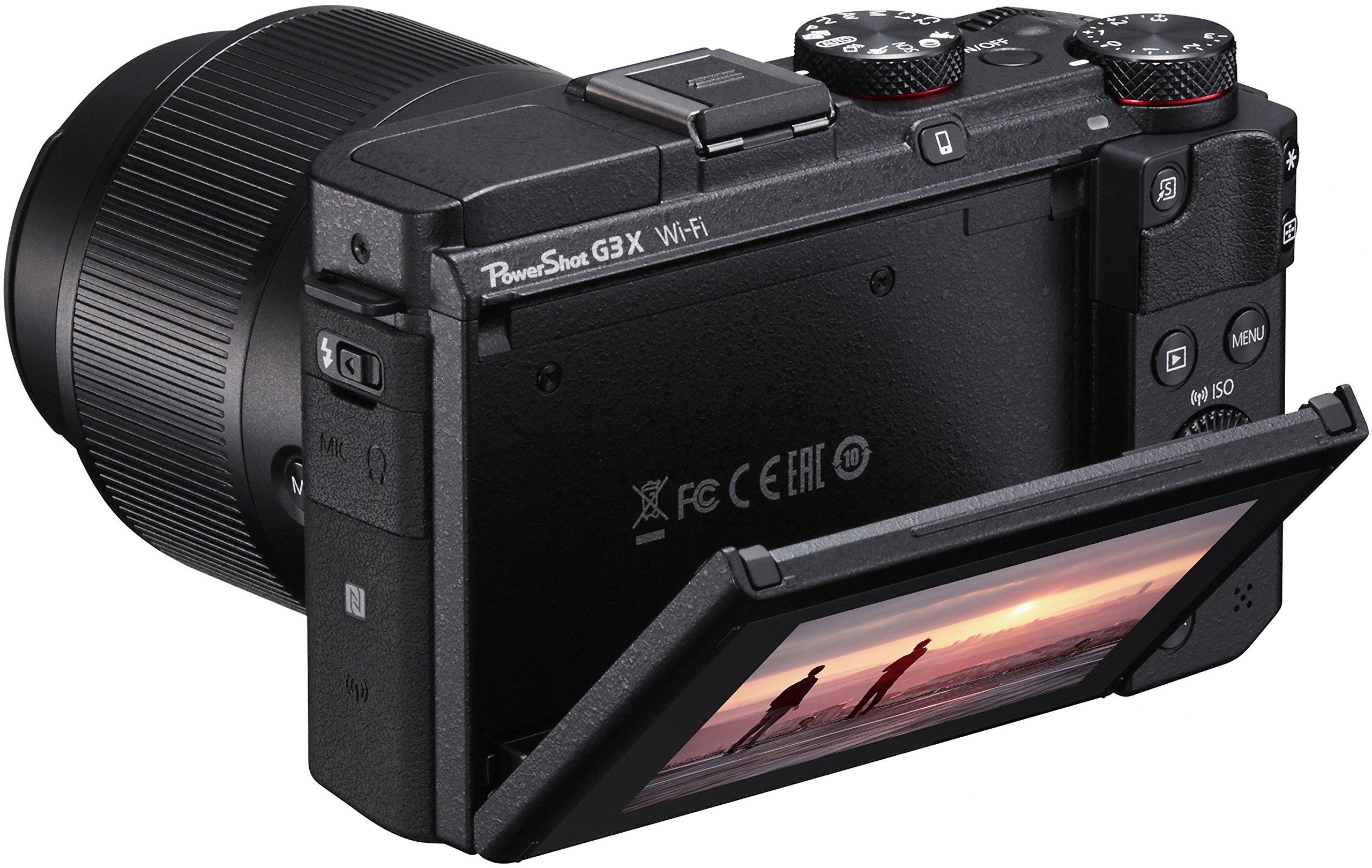 Canon PowerShot G3X - Cámara digital de 20.2 MP (zoom 25x ...