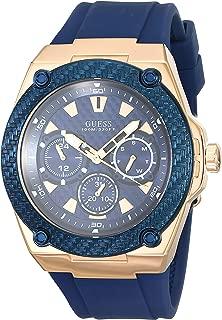 Watch Guess Men's Legacy Watch Quartz Mineral Crystal W1049G2 W1049G2