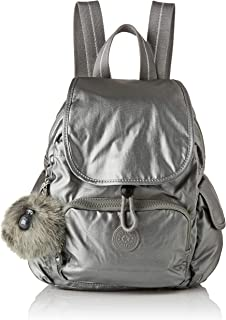 Kipling City Pack Mini Backpack Metallic Stony