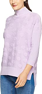 French Connection Women's Polka Popcorn Knit Sweater