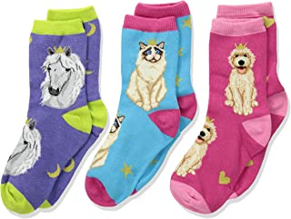Socksmith Unisex Reigning Cats & Dogs (Toddler/Little Kid/Big Kid)