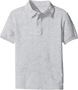 Short Sleeve Pique Polo (Big Kids)
