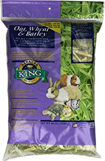 Alfalfa King Double Compressed Oat Wheat And Barley Hay Pet Food, 12 By 9 By 2-Inch