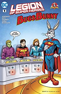 Legion of Super Heroes/Bugs Bunny Special (2017) #1 (DC Meets Looney Tunes (2017-2018))