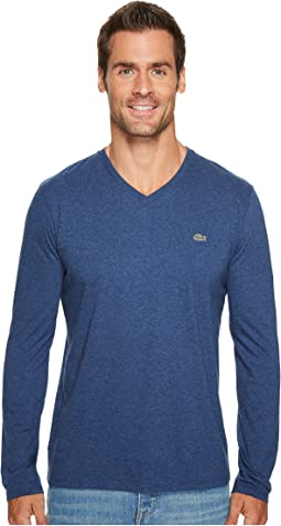Long Sleeve V-Neck Tee Shirt
