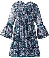 Ella Moss Girl - Elaine All Over Printed Dress (Big Kids)