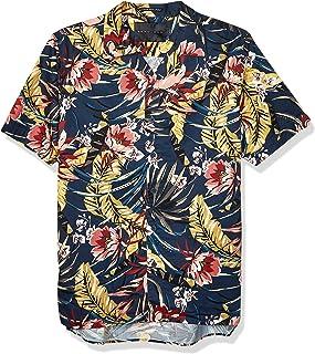 Sean John Men's Printed Button Down Shirt