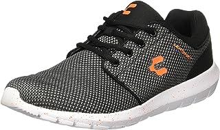CHARLY 1022065 Tenis para Hombre, color Negro/Naranja, talla 27.5 MX
