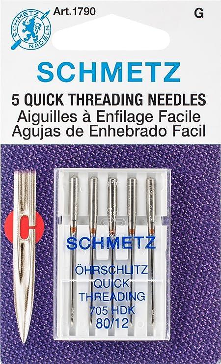 dautres Euro-Notions Machine Surpiq/ûre Needles-Size 14//90/5//Pkg Multicolore