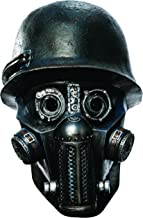 Rubie's Costume Co Men's Sucker Punch Gas Mask Zombie Deluxe Overhead Mask