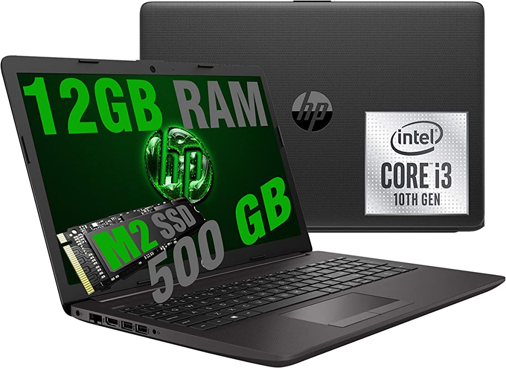Hp pc portatile intel core i3 ram 12gb ddr4 /ssd m2 nvme 500gb /vga intel uhd 197Q0EA/12GB/SSD500/W10PRO