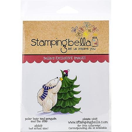 Einheitsgr/ö/ße Pinguine Lagergeschenk Stamping Bella EB866 Stempelstiefel zum Stempeln von Glocken