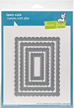 Lawn Fawn Lawn Cuts Craft Die - LF1719 Stitched Scalloped Rectangle Frames