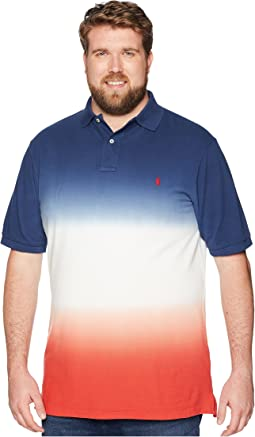 Big & Tall Dip Dye Pique Polo