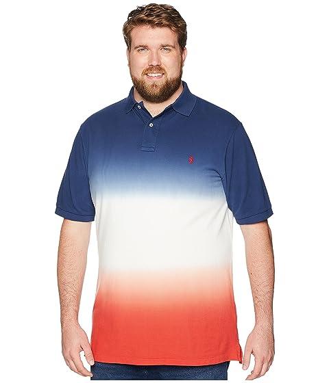 237410e04 Polo Ralph Lauren Dip-Dyed Pique Polo