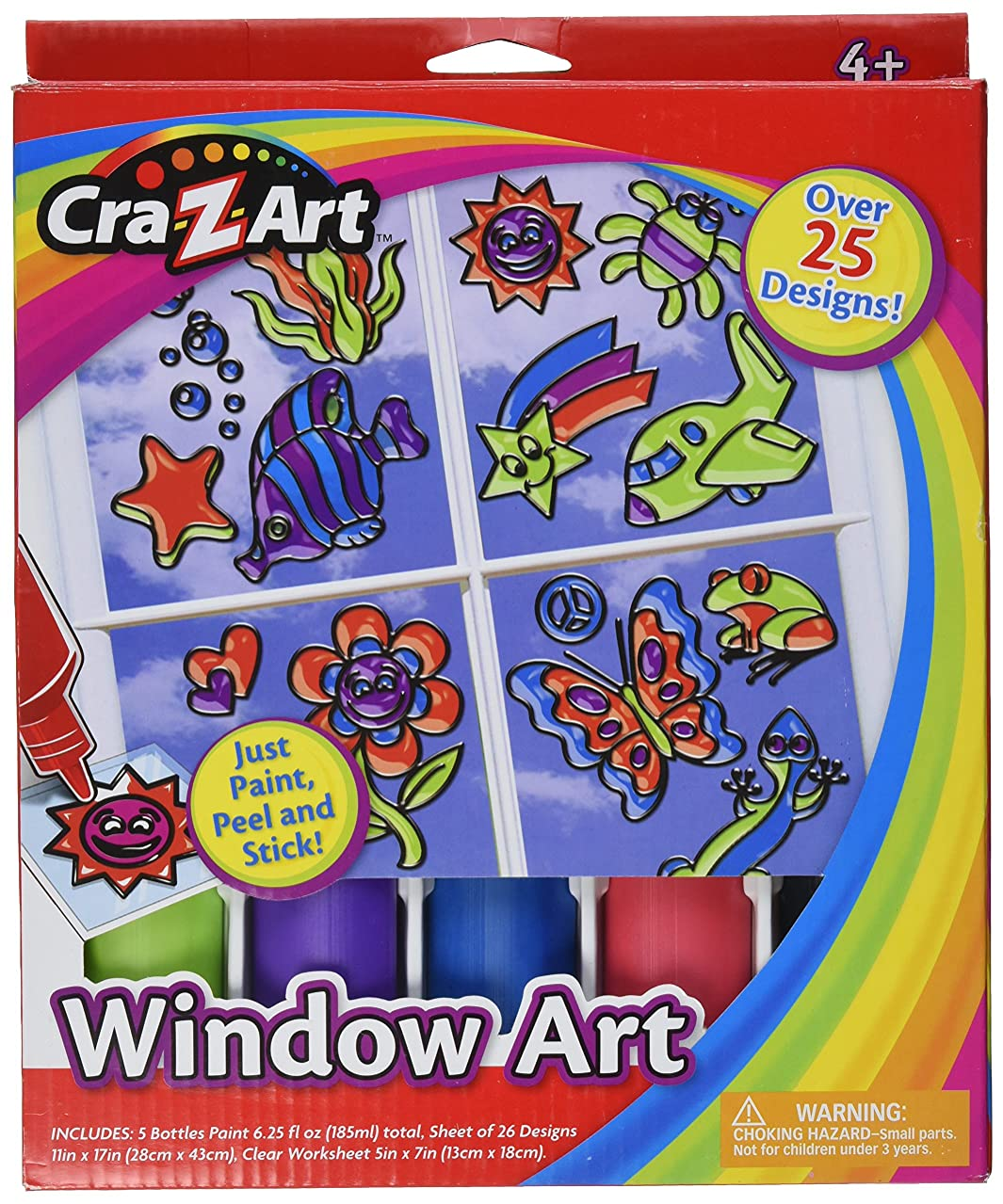 Cra-Z-Art Window Art, Medium Boxes (12419)
