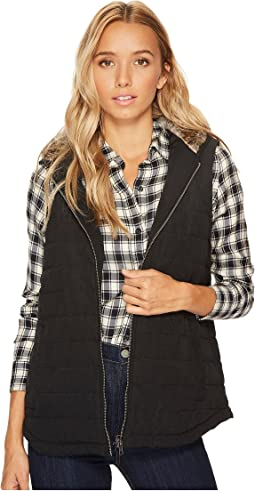 Jack by BB Dakota - Meiker Microfiber Vest with Fur Lined Hood