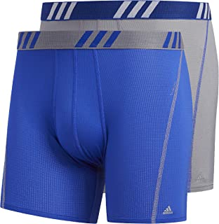 adidas Men's Sport Performance Mesh Trunks Underwear (2-Pack)